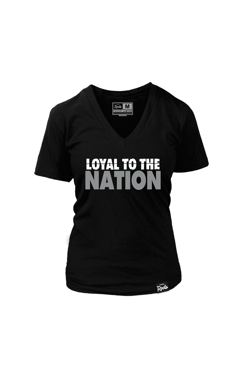 Loyal to the Nation (Women's V-Neck)