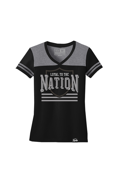 Loyal to the Nation (Varsity V-Neck)