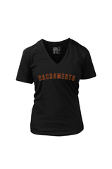 Sacramento G (Women's V-Neck)
