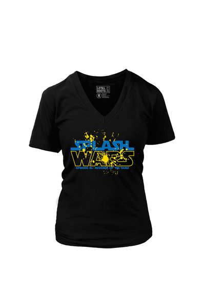 Splash Wars (Women's V-Neck)