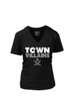 Town Villains (Women's V-Neck)