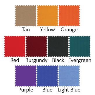 Sluice Hammocks Fabric Color Options