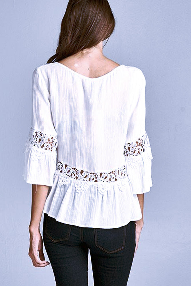 Romantic Lace Top