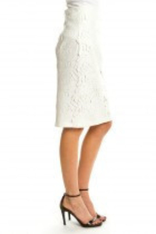 Laser Cut Pencil Skirt