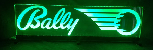 Bally Logo Pinball Topper