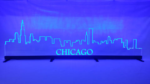 "32"" Chicago Skyline LED Display"