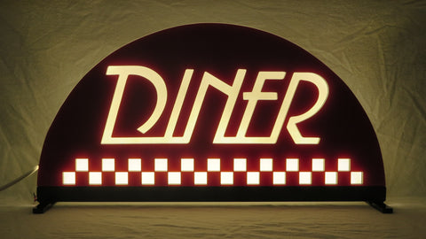 Diner Pinball Topper