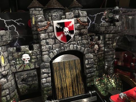 Medieval Madness 3D Castle Crest