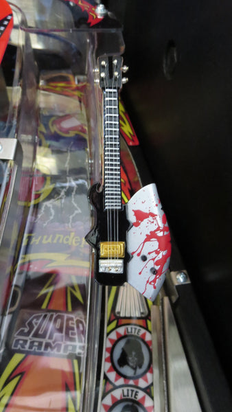 KISS Axe Bass Guitar Mod