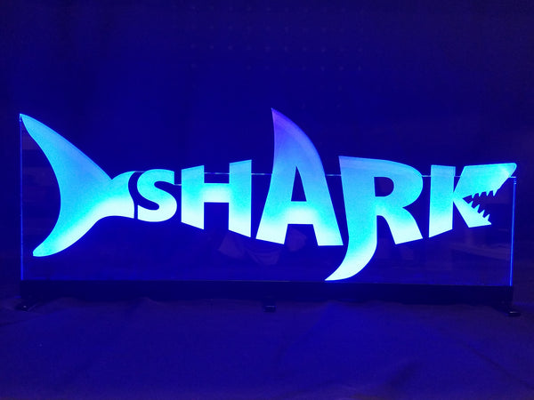 SHARK Table Sign