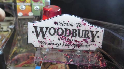 The Walking Dead Woodbury Sign Mod