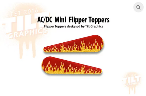 AC/DC Mini TG-Flipper Toppers