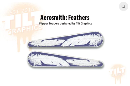 Aerosmith TG Feathers Flipper Toppers