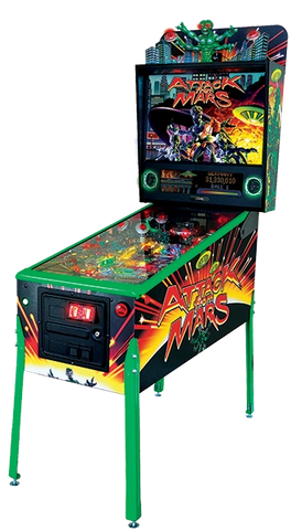 Attack From Mars Remake Pinball Machine