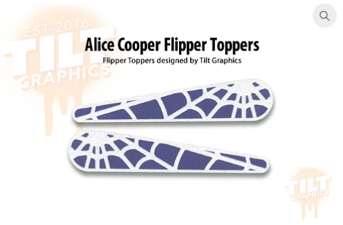 Alice Cooper TG Flipper Toppers