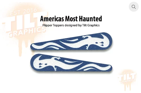 America's Most Haunted TG Flipper Toppers