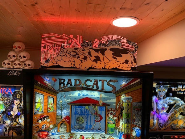 Bad Cats Pinball Topper