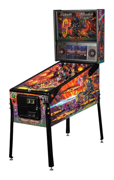 Black Knight Sword of Rage Limited Edition Pinball Machine