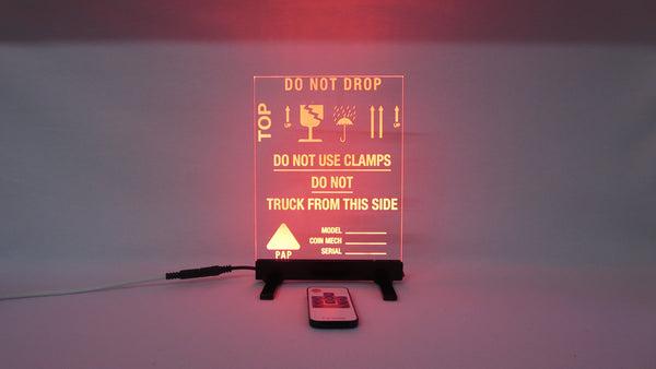 BackBox Warning LED Display