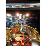 Metallica Flaming Blue Bass Guitar Mod