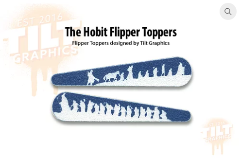 Hobbit: The Fellowship TG Flipper Toppers