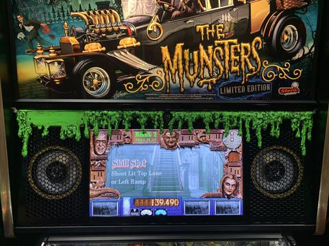 Munsters Dripping Wax Speaker Panel Cover