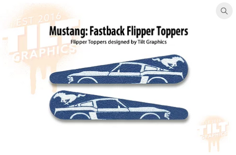 Mustang TG Flipper Toppers