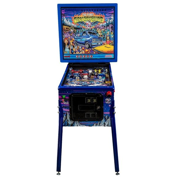 Pabst Blue Ribbon Pinball Machine