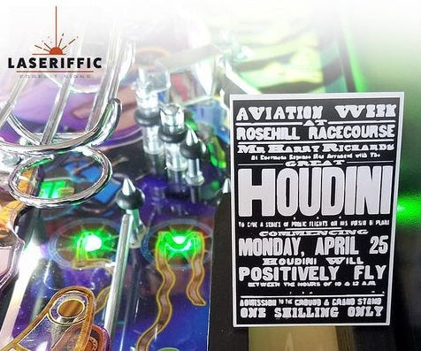 Houdini Poster Sign
