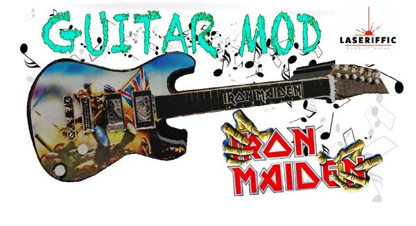 Iron Maiden Electric Guitar