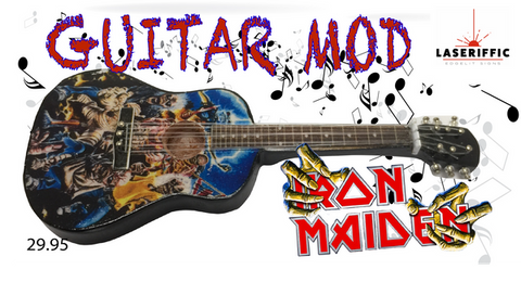 Iron Maiden Acoustic Guitar