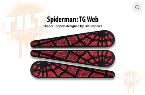 Spider-Man: Web TG Flipper Toppers
