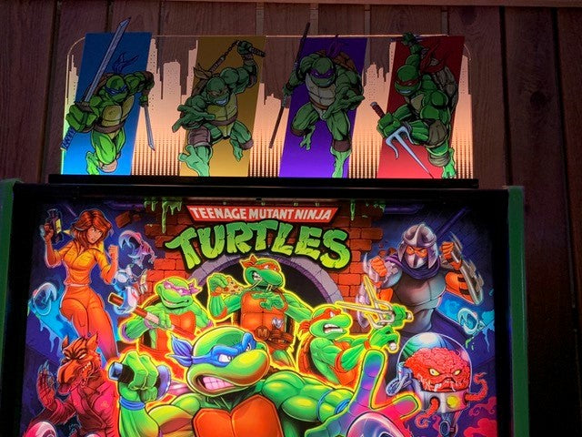 Teenage Mutant Ninja Turtles Pinball Topper