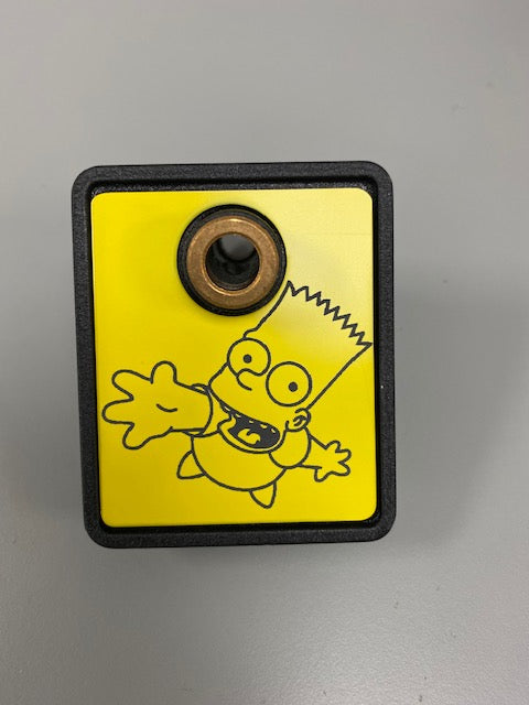 The Simpson Pinball Party Shooter Plate