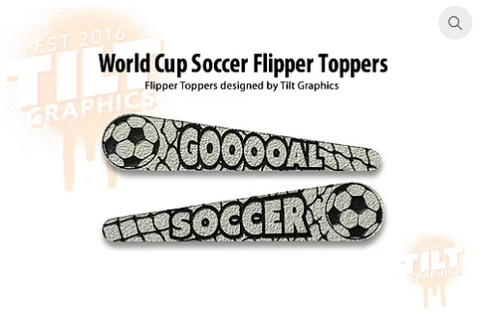 World Cup Soccer TG-Flipper Toppers
