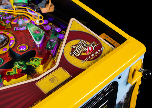 Wizard of Oz Yellow Brick Road Limited Edition Pinball Machine