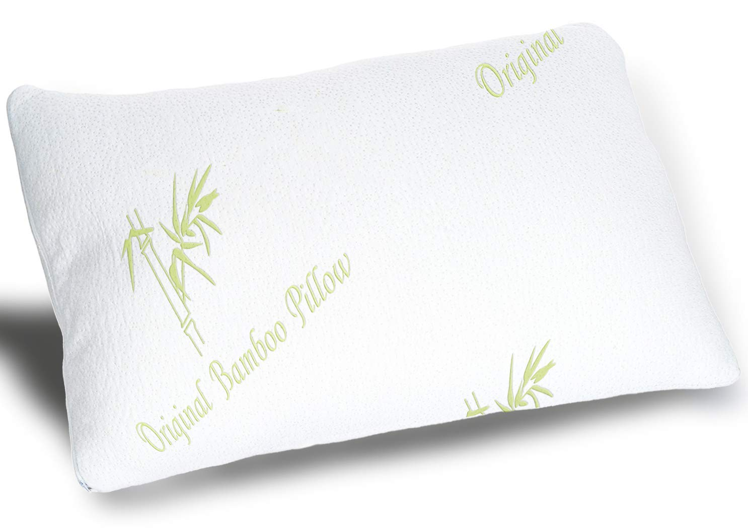 Adjustable Shredded Memory Foam Pillow - Original Bamboo
