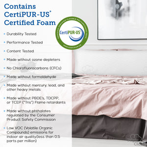 Body Pillow - Premium Shredded Memory Foam