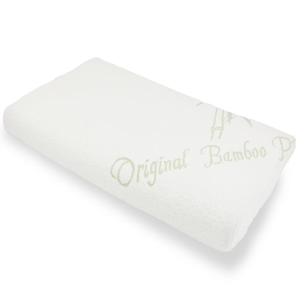 Memory Foam Toddler Pillow - Hypoallergenic - Original Bamboo