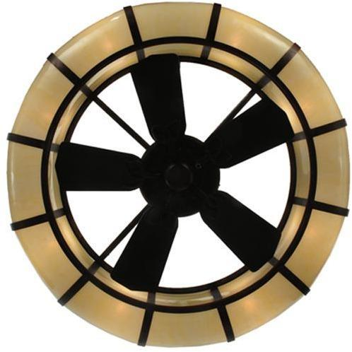"Meyda Tiffany 44.25""W Prime Dome Chandel-Air Ceiling Fan - 127988"