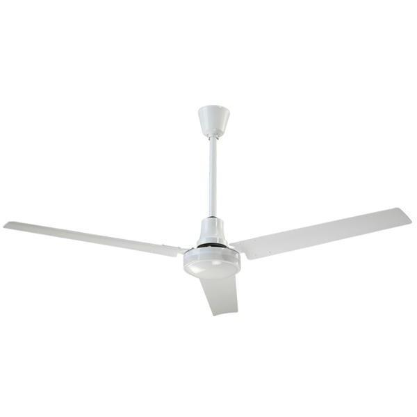 "Canarm High Performance Industrial Fan with 16"" Downrod + Forward/ Reverse"