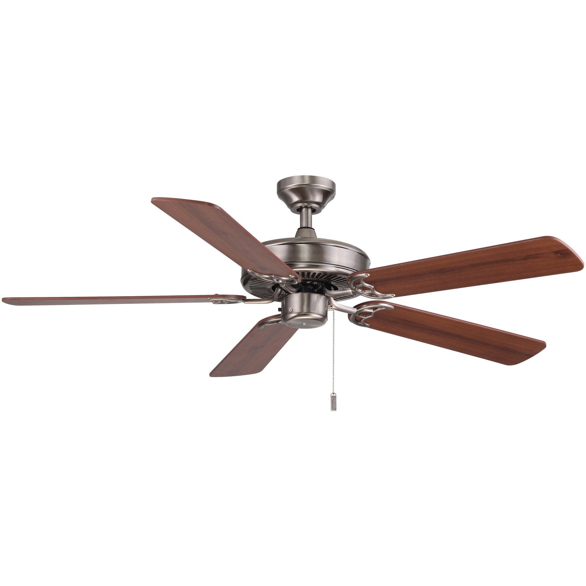 "Wind River Dalton Nickel 52"" Ceiling Fan"