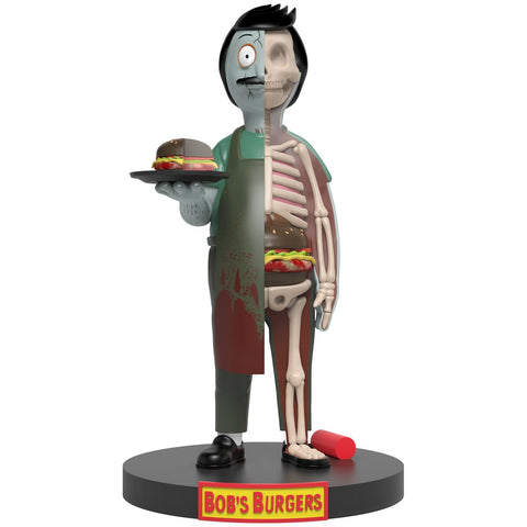 Bob's Burgers Bob Belcher Kales From the Crypt XXRay Plus Vinyl Figure (Signed)