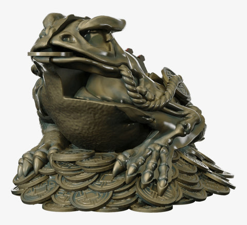 Dissected Fortune Frog Limited Edition Sculpture (Signed)