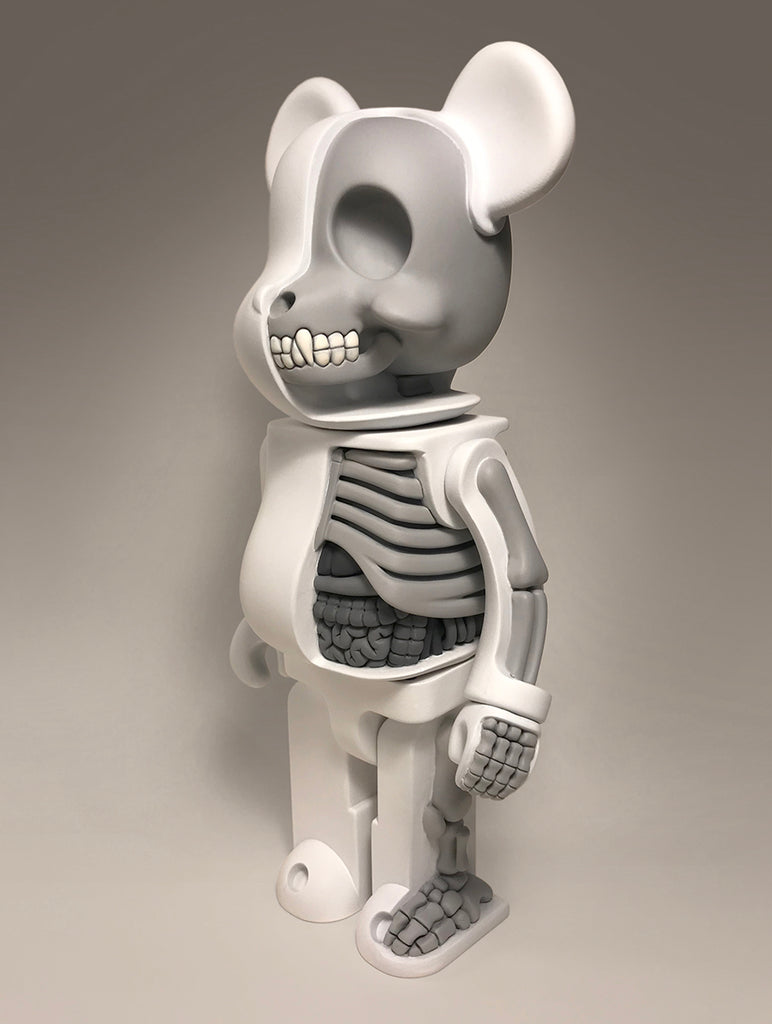 Bearbrick Anatomy Sculpture (Gray)