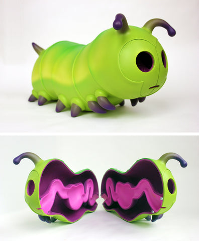 Caterpillar Sculpture