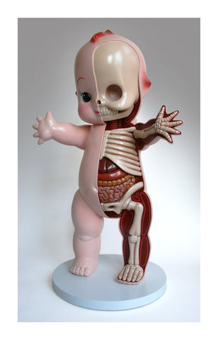 Giant Kewpie Sculpt Dissection Print