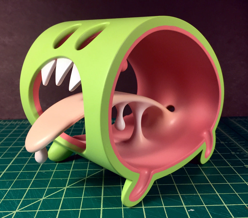 Little Monster Original Sculpt Green Limited Edition (Signed / Numbered)