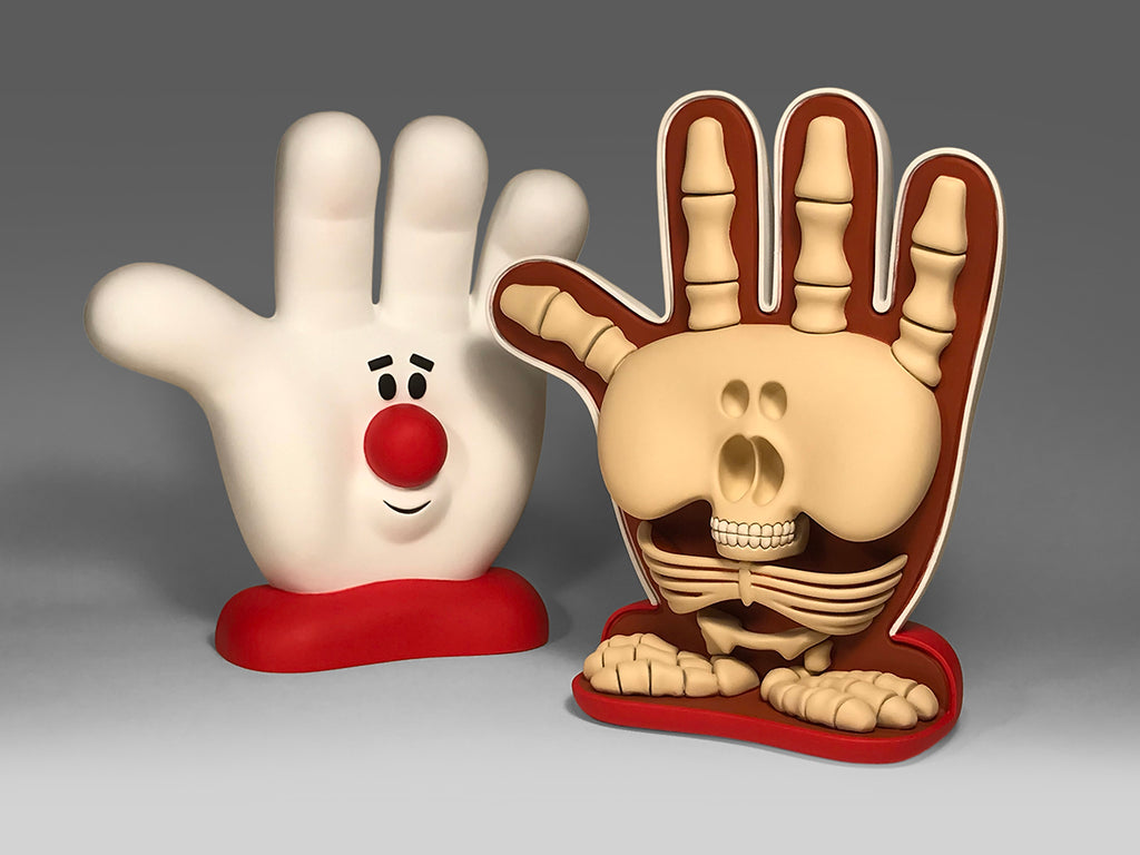Hamburger Helper Anatomy Sculpture