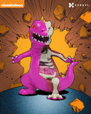 XXRAY Reptar (Purple) Limited Edition Sculpture (Signed)